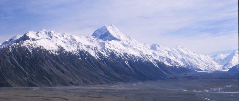 Mt Cook Tasman Glacier Nov 71