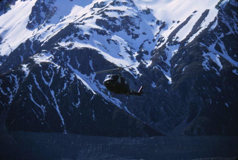 Huey Ball Hutt Mt Cook Nov 71